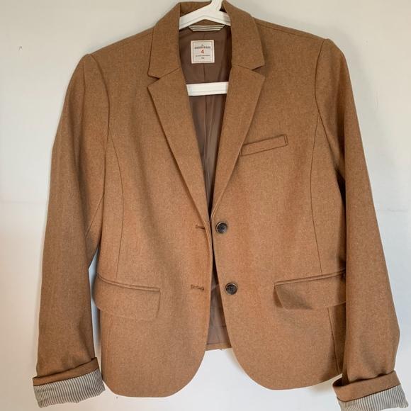 GAP Jackets & Blazers - Gap camel Academy Blazer